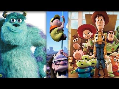 Top 10 Greatest Pixar Movies