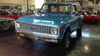 Test Drive: 1972 Chevy C-10 Stepside Pickup SOLD at the Sun Valley Auto Club