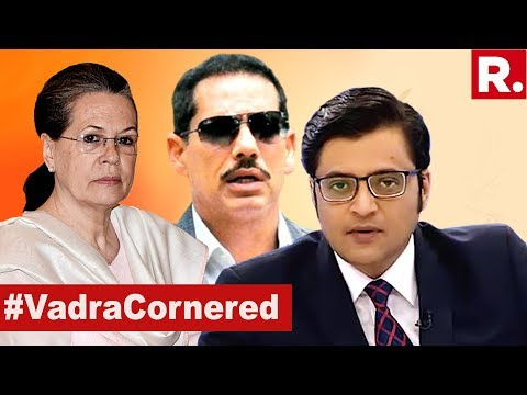 Sonia Gandhi's Aide Introduced Robert Vadra To Thampi?   The Debate With Arnab Goswami