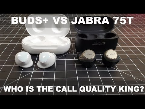 Samsung Galaxy Buds Vs Jabra Elite 75t Who Is The Call Quality King Youtube