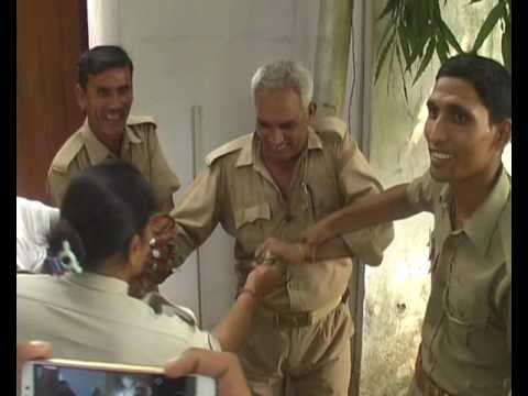 home guards protest for salary