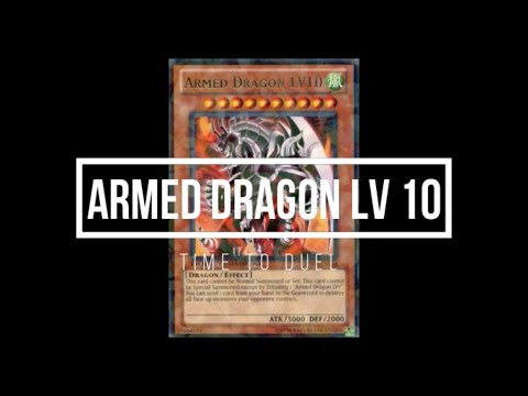 Armed Dragon LV10 - All Anime Summonings