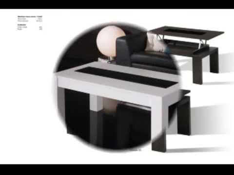 Mesa de centro mesa elevable mesa plegable mesa de for Mesa centro plegable