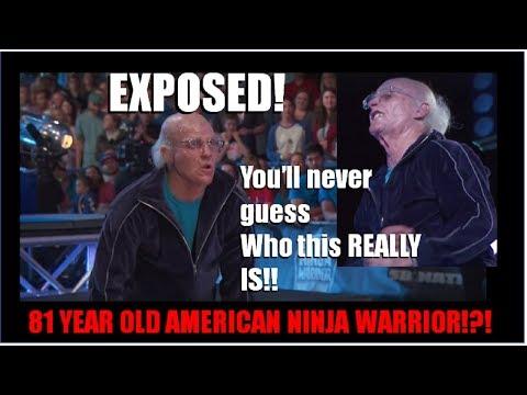 81 Year Old American Ninja Warrior EXPOSED! Arthur Hickenlooper, Real Warrior or Big Faker?