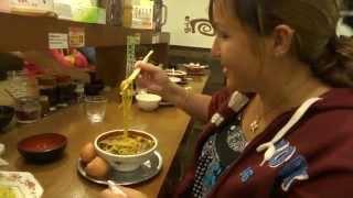 Restaurant de Ramen, gare de Kyoto, Japon