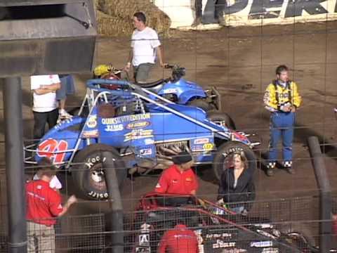 Sprint Car Racing Flashback-SCRA Perris Auto Speedway Aug. 31, 2003