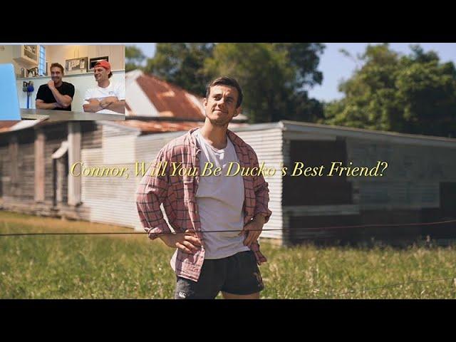 Ducko's Love Ballad To Connor Watson | Nick, Jess & Ducko