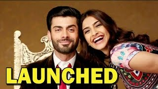 Sonam Kapoor and Fawad Khan at the launch of 'Khoobsurat' trailer | Bollywood News