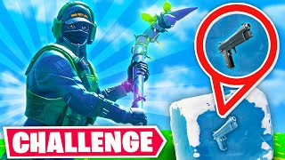 WINNING with *ONLY* ICE CUBES Challenge!