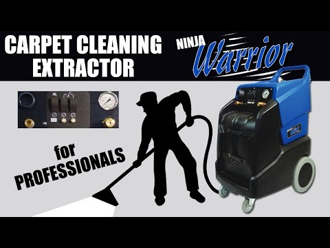 One Mean Money Making Machine - Portable Carpet Cleaning Machine - Ninja Warrior