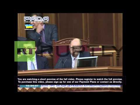 Ukraine: Rada approves Poltorak as new defence minister