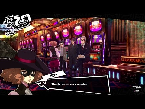 Persona 5 - Shido's Palace TV Station President 3rd Letter of Introduction