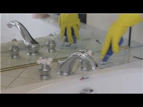 Bathroom Cleaning How To Clean Bathroom Fixtures YouTube - How to remove rust from chrome bathroom fixtures