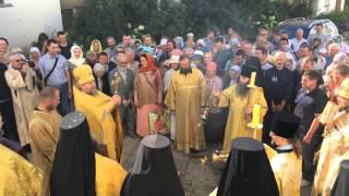 Крестный ход в Свято-Пафнутьевом монастыре, День Крещения Руси