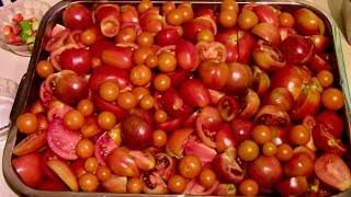 Canning Roasted Tomato Sauce