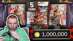 Galaxy Opal LEBRON JAMES 1 Million VC Pack Opening!! *NEW* Out Of Position Packs! (NBA 2K20 MyTeam)