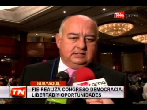 FIE realiza congreso democracia libertad y oportunidades