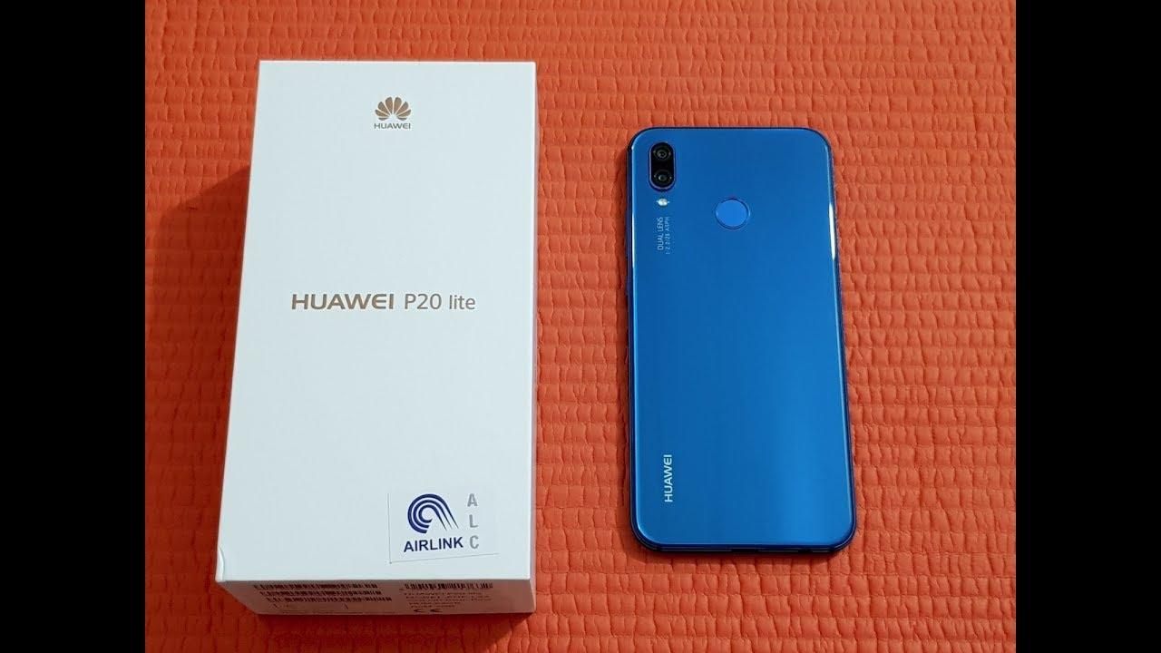 Huawei p20 lite   Unboxing