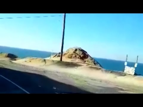MORNING NEWS - Car Flies off the Road, Driver Missing!