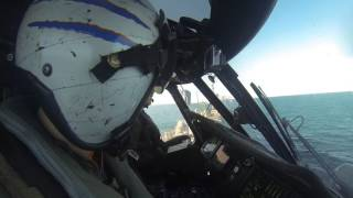 USS Detroit - First Helo landing