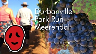 Durbanville Park Run on the Meerendal wine estate