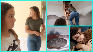 BUYING AND EXPLORING AN ABANDONED HOUSE | SISTERFOREVERVLOGS #709