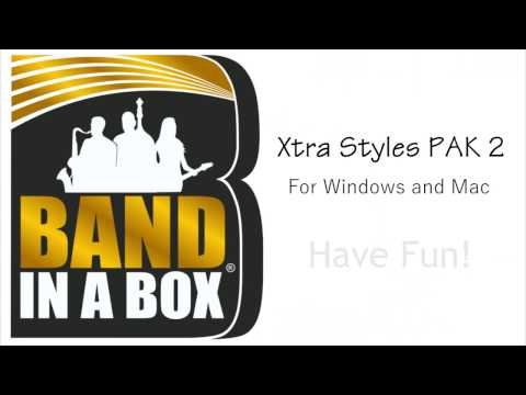 Band-in-a-Box® - Xtra Styles PAK 2 Demos