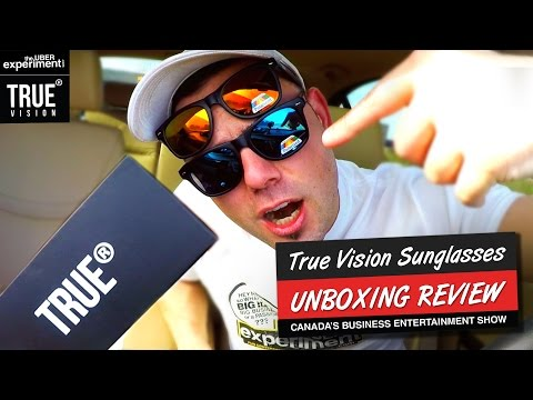 TRUE VISION Sunglasses VS. Expensive Ones: UNBOXING Video & Review on The Uber Experiment