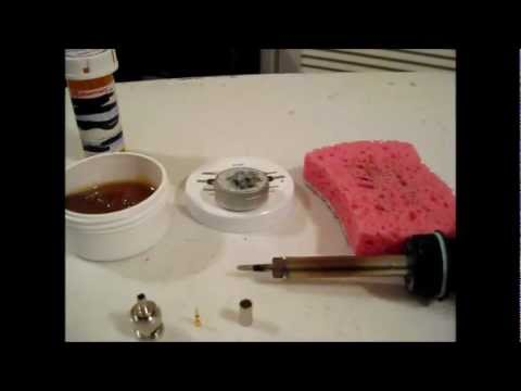 prepping your soldering iron youtube. Black Bedroom Furniture Sets. Home Design Ideas
