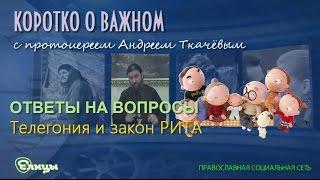 Телегония и закон РИТА Прот. Андрей Ткачев