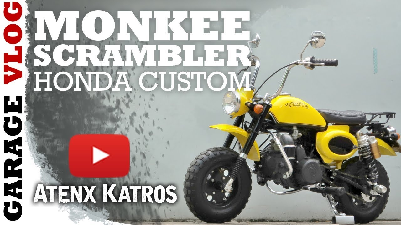 Modif Motor Jadi Honda Monkey Dunia Otomotif