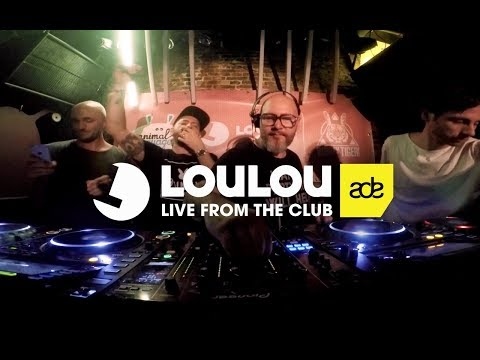 Kolombo, LouLou Players, Sharam Jey & Mason B2B @ Amsterdam Dance Event 2017, De Club Up