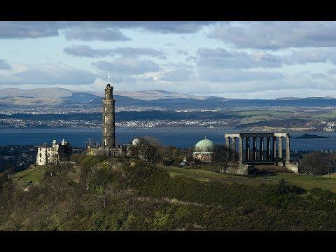 Calton Hill's Monuments And Buildings- Edinburgh, Scotland History