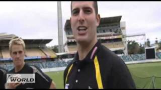 Wolves Play Cricket In Oz