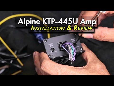 alpine ktp 445u installation and review in a 2017 wrx  alpine ktp 445u alpine amp and ipod