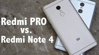 Xiaomi Redmi Note 4 vs. Xiaomi Redmi PRO - Detailed view & Performance test
