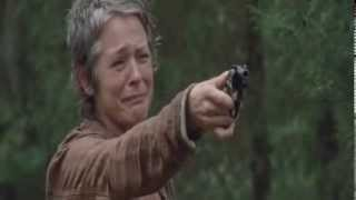 The Walking Dead Scene - Just look at the flowers Lizzie