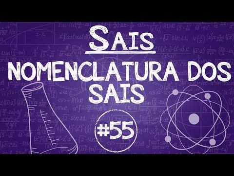 Química Simples #55 - [Sais] - Nomenclatura