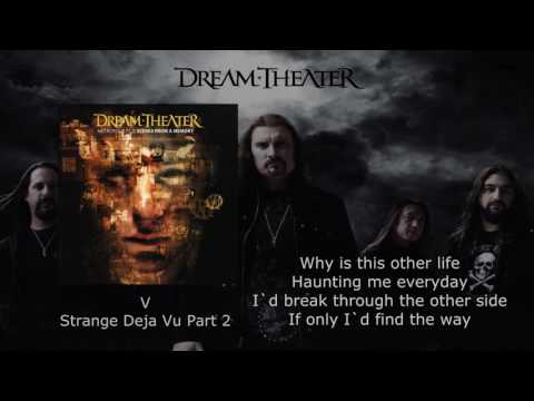 """Dream Theater - Metropolis P. 2: """"Scenes From A Memory"""" ACT 1 (with lyrics)"""