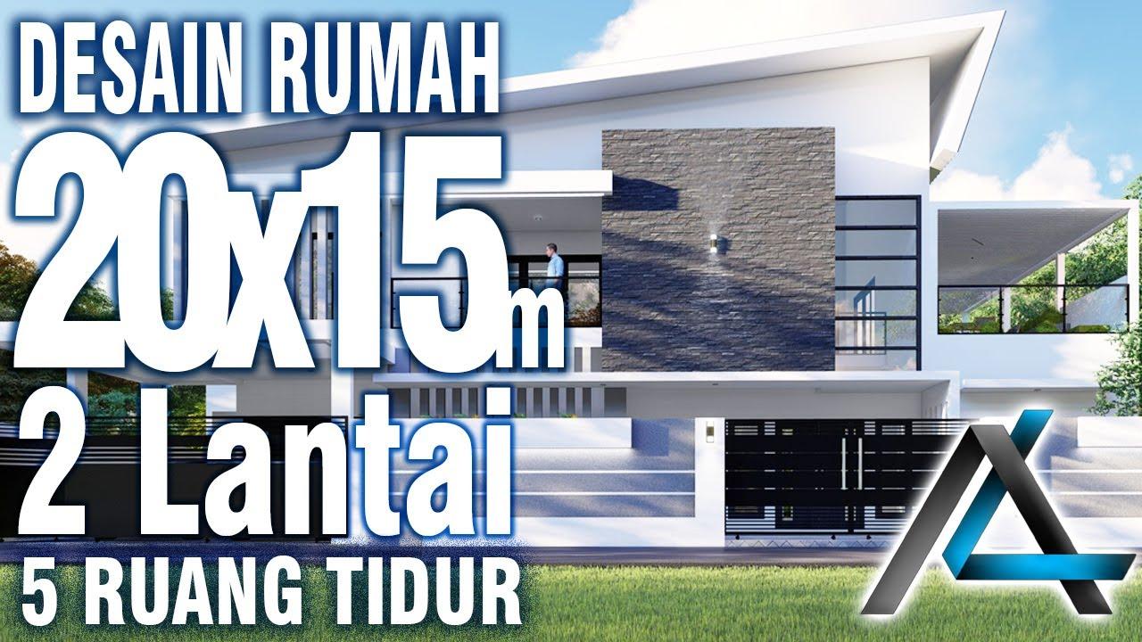 Desain Rumah 20x15 Meter Kolam Renang I Lampung Jasadesain Jasaarsitek Desainrumah20x15meter Youtube