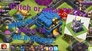 Ghost base no artillery 😲 TOWN HALL 12 in hindi