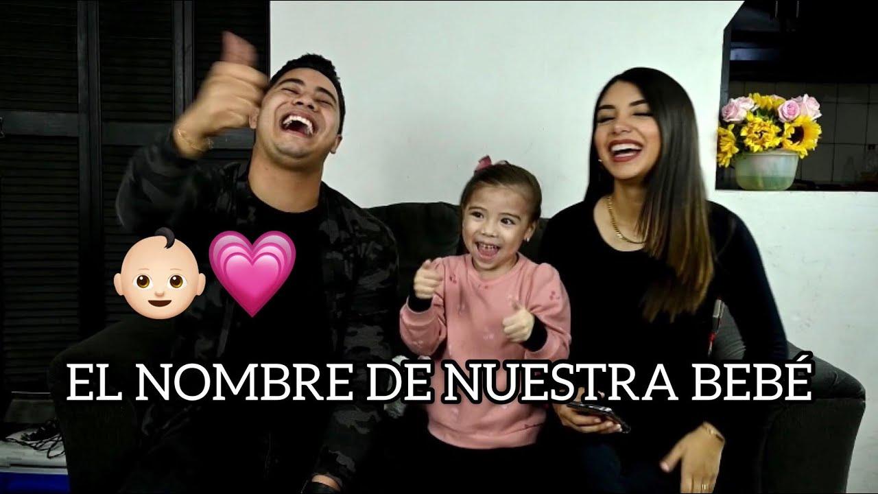EL NOMBRE DE NUESTRA BEBÉ | La Familia Niño: Sofía Donoso, El Javetas y Blanchelle.