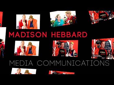Madison Hebbard - MEDIA COMMUNICATIONS