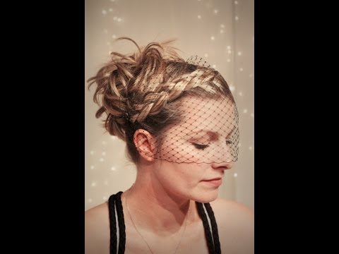 Bandeau Bridal Veil DIY - Hitched In GJ