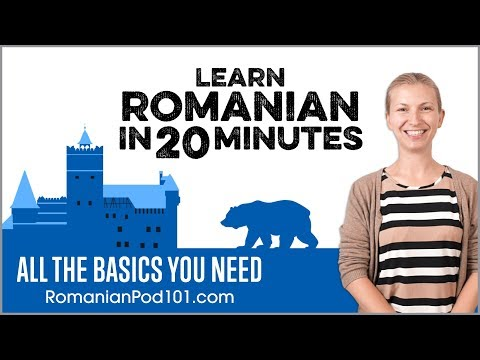 Learn Romanian in 20 Minutes - ALL the Basics You Need
