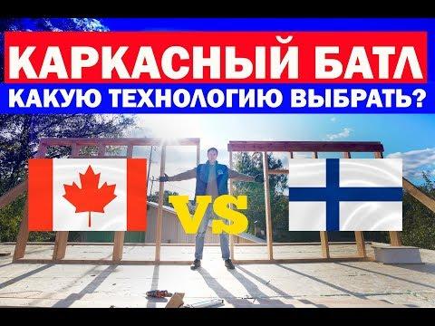 Каркасный дом по канадской или финской технологии