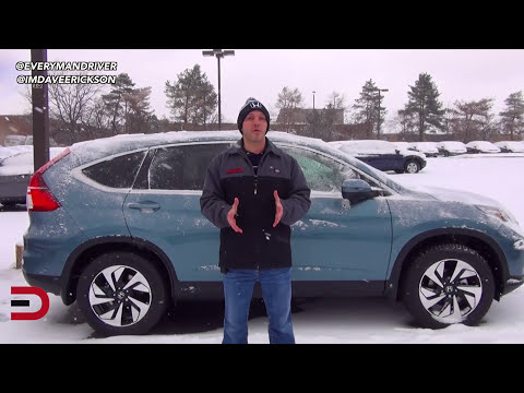 Here's the 2015 Honda CR-V AWD on Everyman Driver
