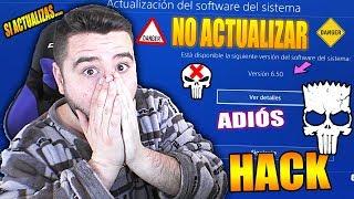 SI ACTUALIZAS PLAYSTATION 4 6.50 ADIÓS HACK-SUS NOVEDADES-NO UPDATE-9BRITO9
