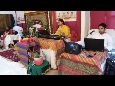 Murlika Ji in US 2017 - Bhagwat Katha at Renu Gupta Ji's Residence Cincinnati Ohio Day 3 Part 5
