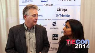 TiECon 2014 TIE50: Bob Thronson of Vigilent at Media Lounge with Kiran Malhotra